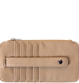 Taupe Credit Card Sleeve