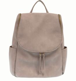 Mystic Grey Side Pocket Backpack
