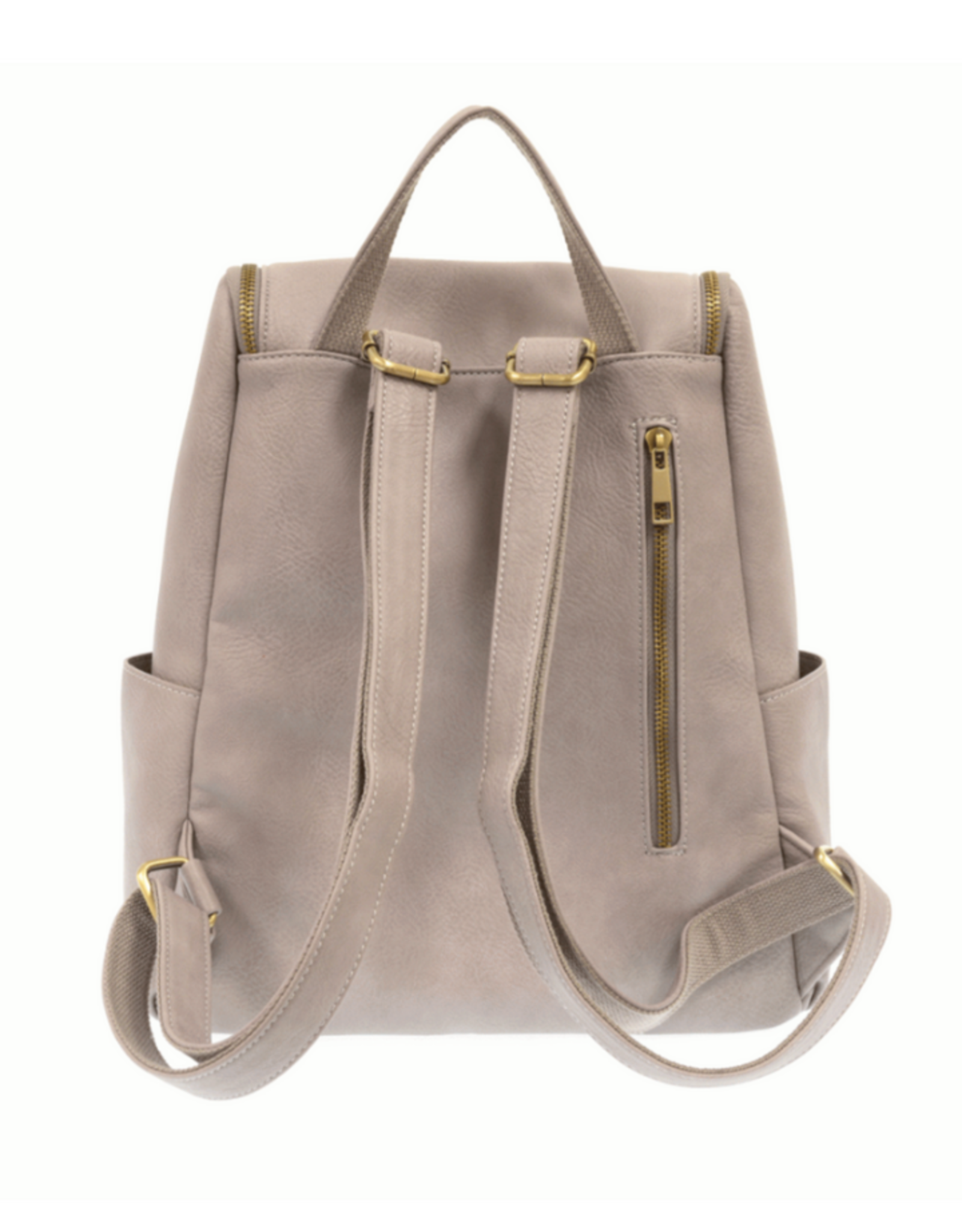 Mystic Grey Side Pocket Backpack