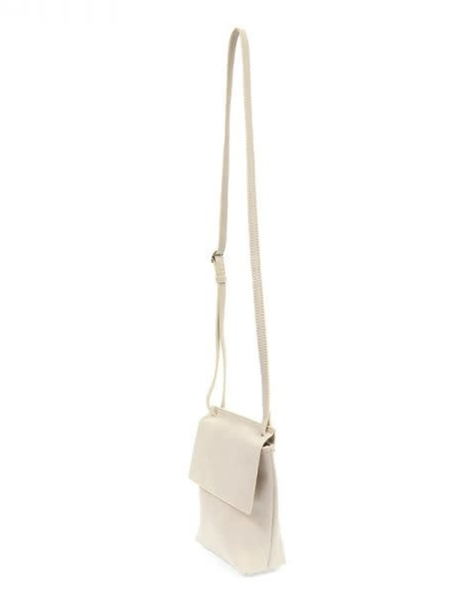 Oyster Front Flap Crossbody Bag