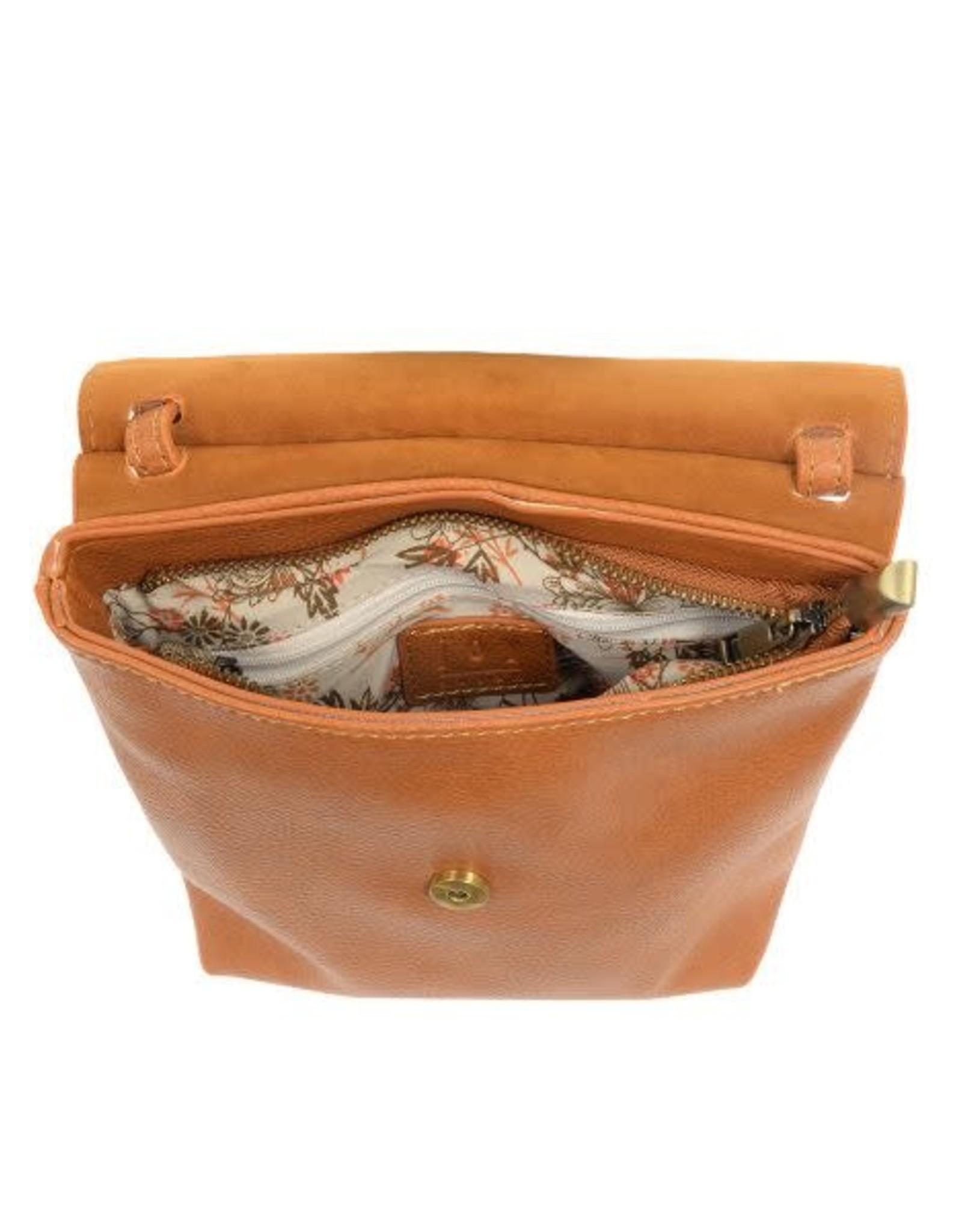 Saddle Front Flap Crossbody Bag