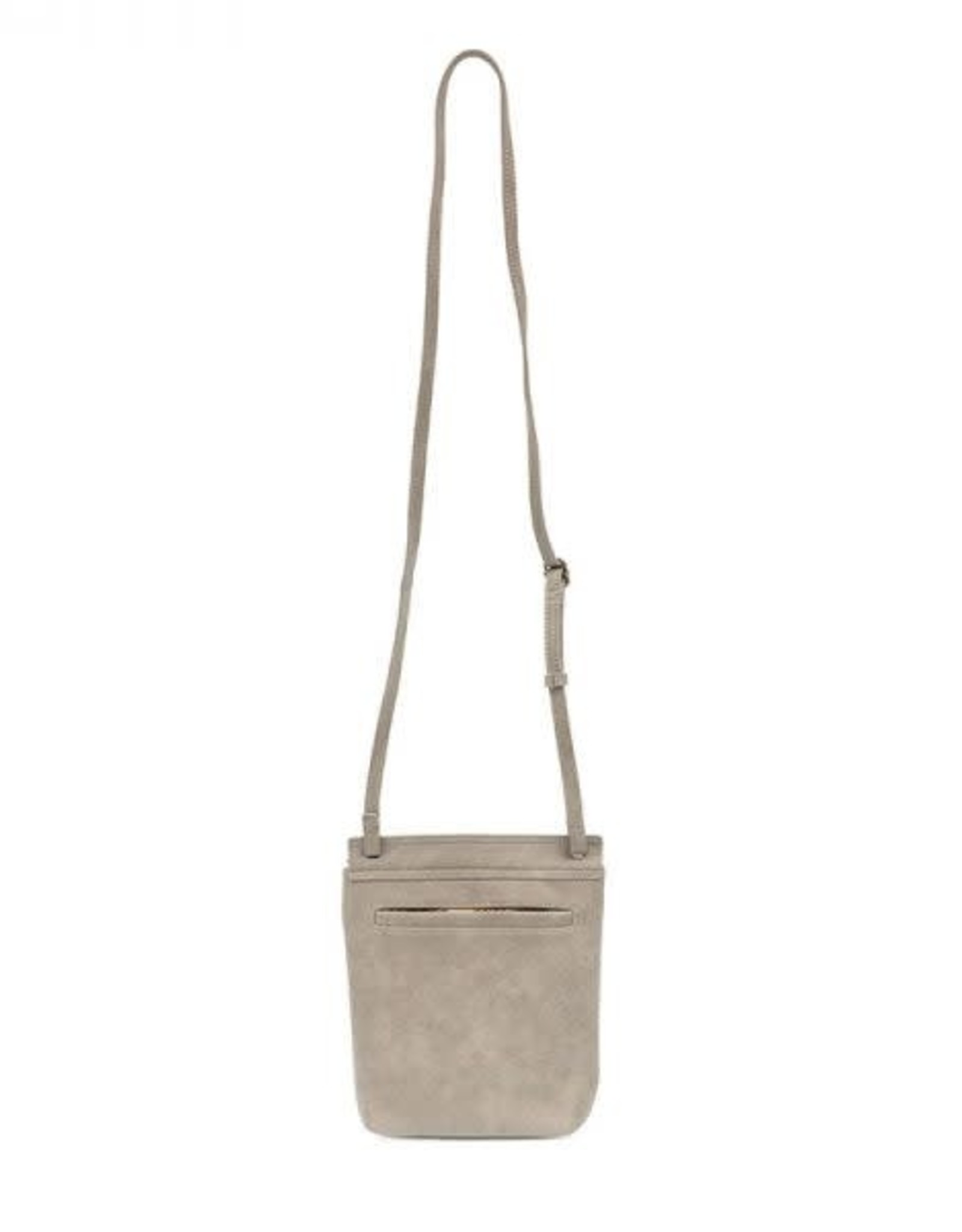 True Grey Front Flap Crossbody Bag