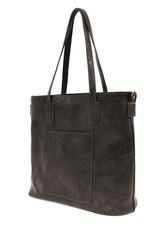 - Black Zip Tote Handbag