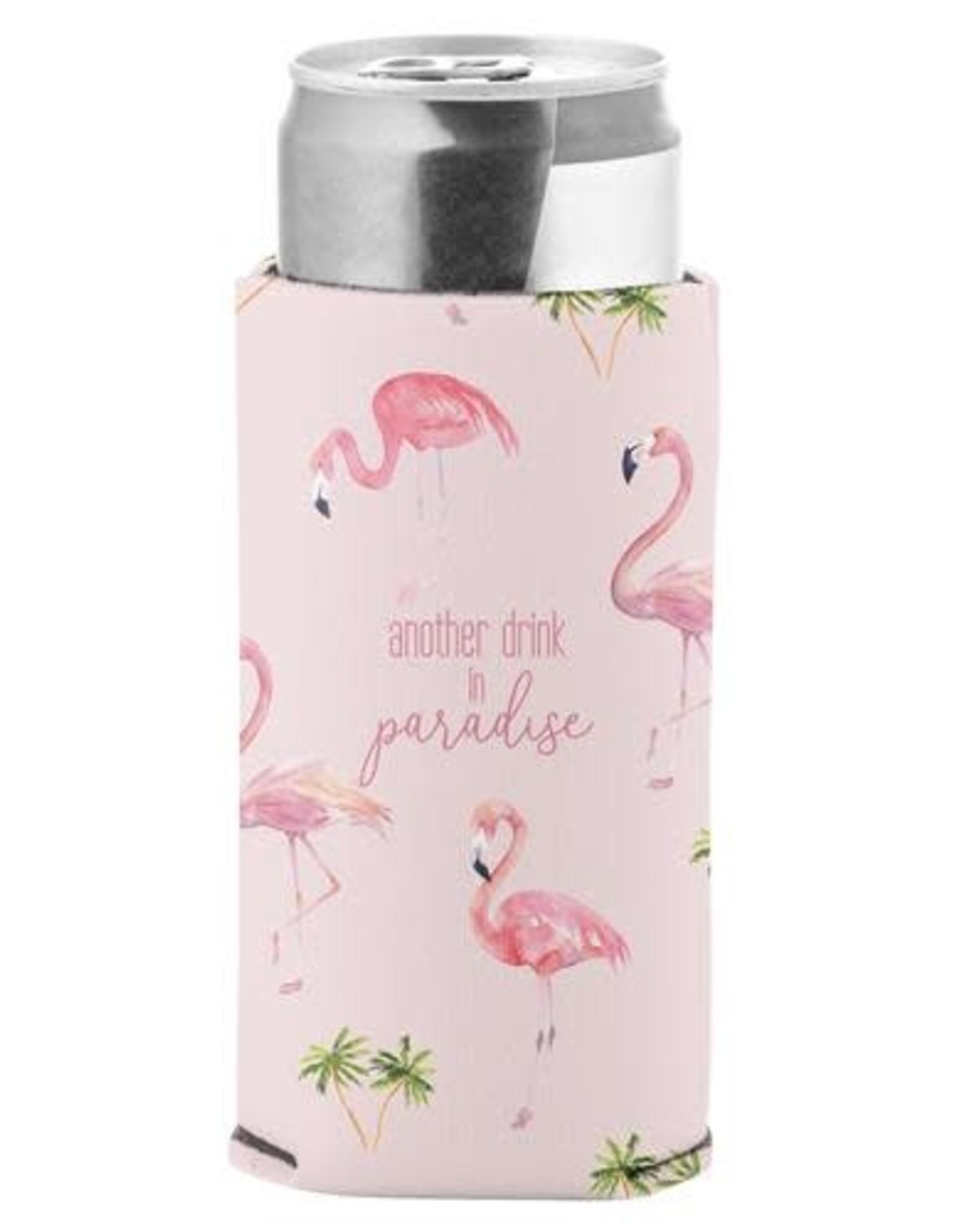 - Flamingo Skinny Can Cooler