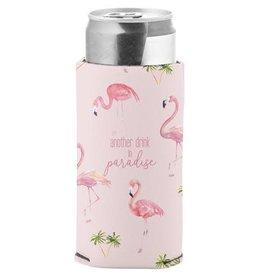 - Flamingo Skinny Can Cooler