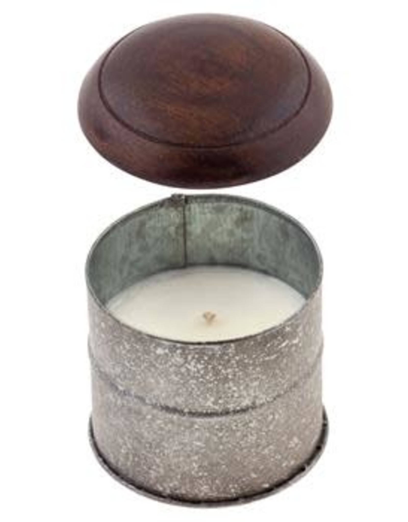 - Pomegranate Tin Soy Wax Candle