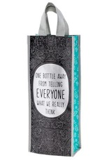 - One Bottle Away Recycled Wine Bag