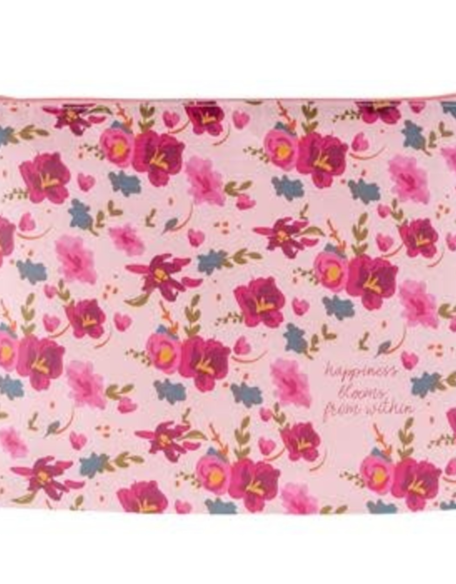 - Large Recycled Carry-All Pink Floral Bag