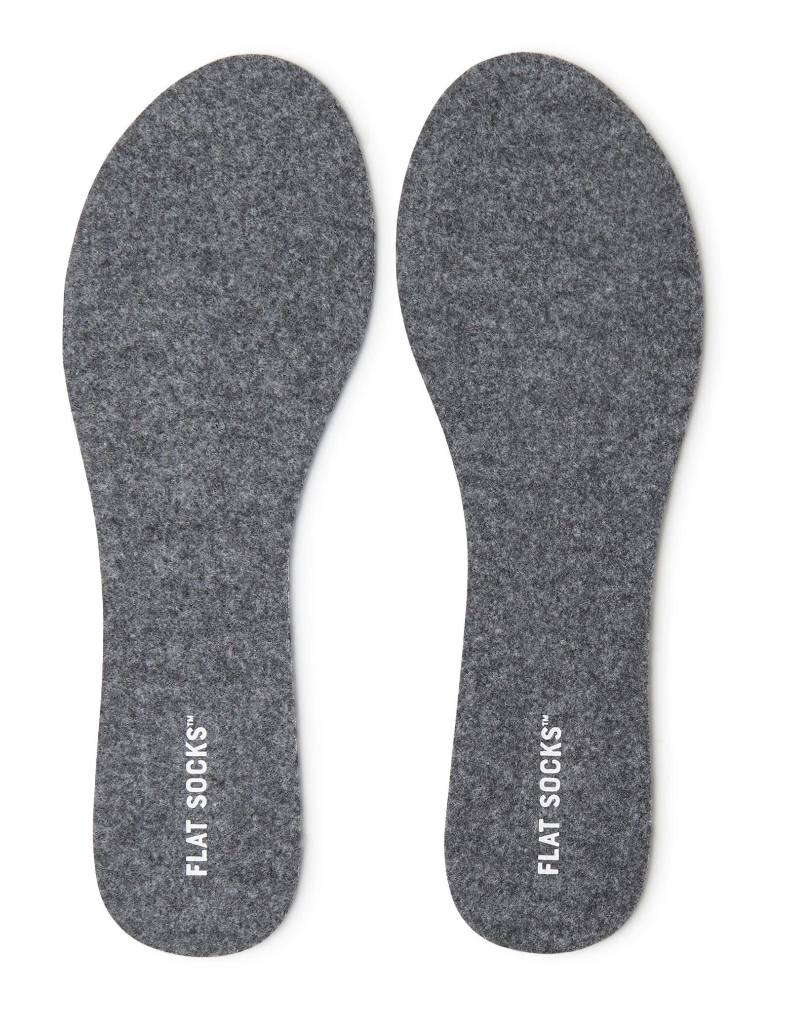Flat Socks Dark Heather Grey Flat Socks