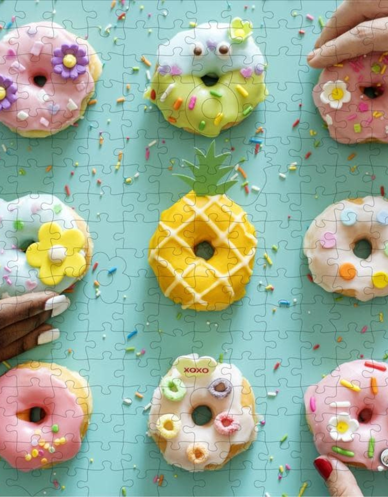 - Donuts 250pc. Wooden Puzzle
