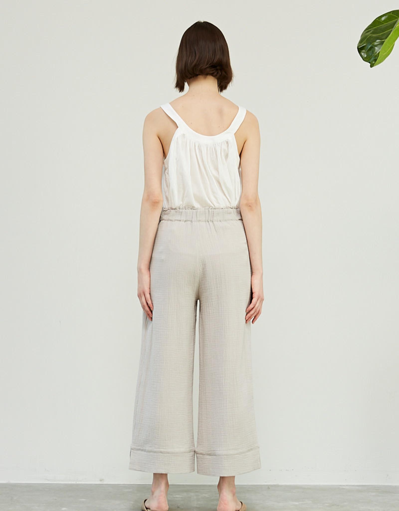 - Haze Double Gauze Cotton Pant