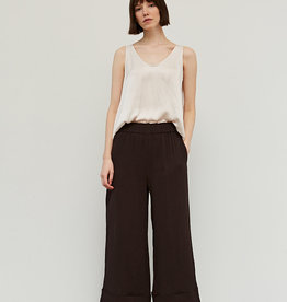 - Black Coffee Double Gauze Cotton Pant