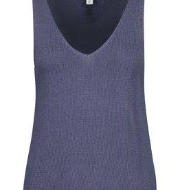 Tribal Denim Blue Sweater Tank
