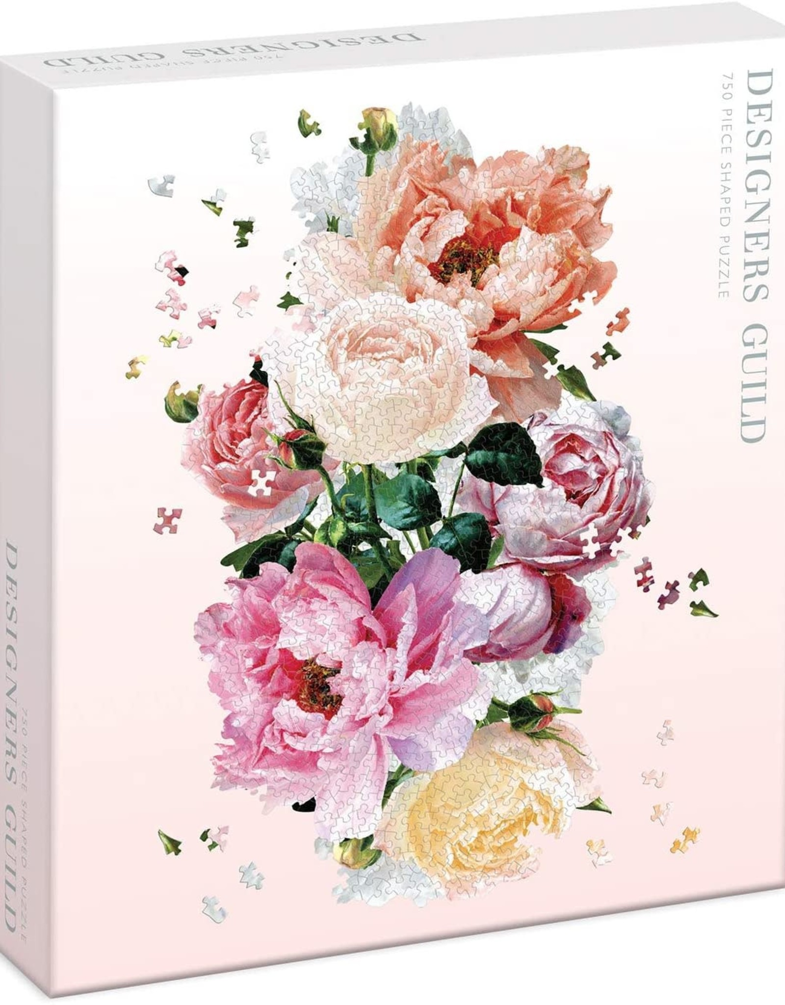 - Floral Shaped 750pc. Puzzle