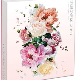 - Floral Shaped 750pc. Puzzle
