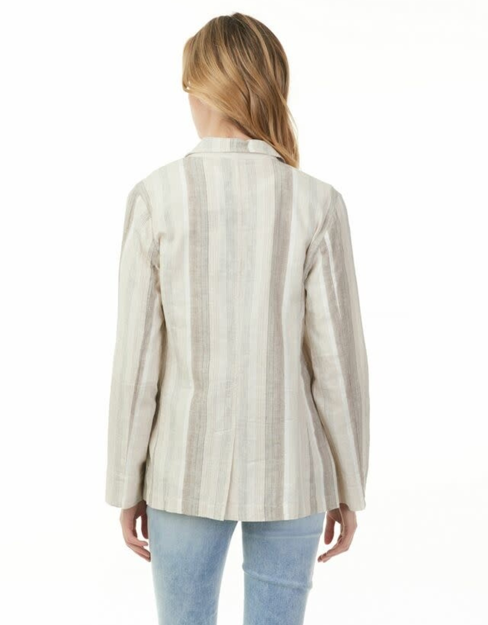 - Desertic Stripe Blazer Style Jacket