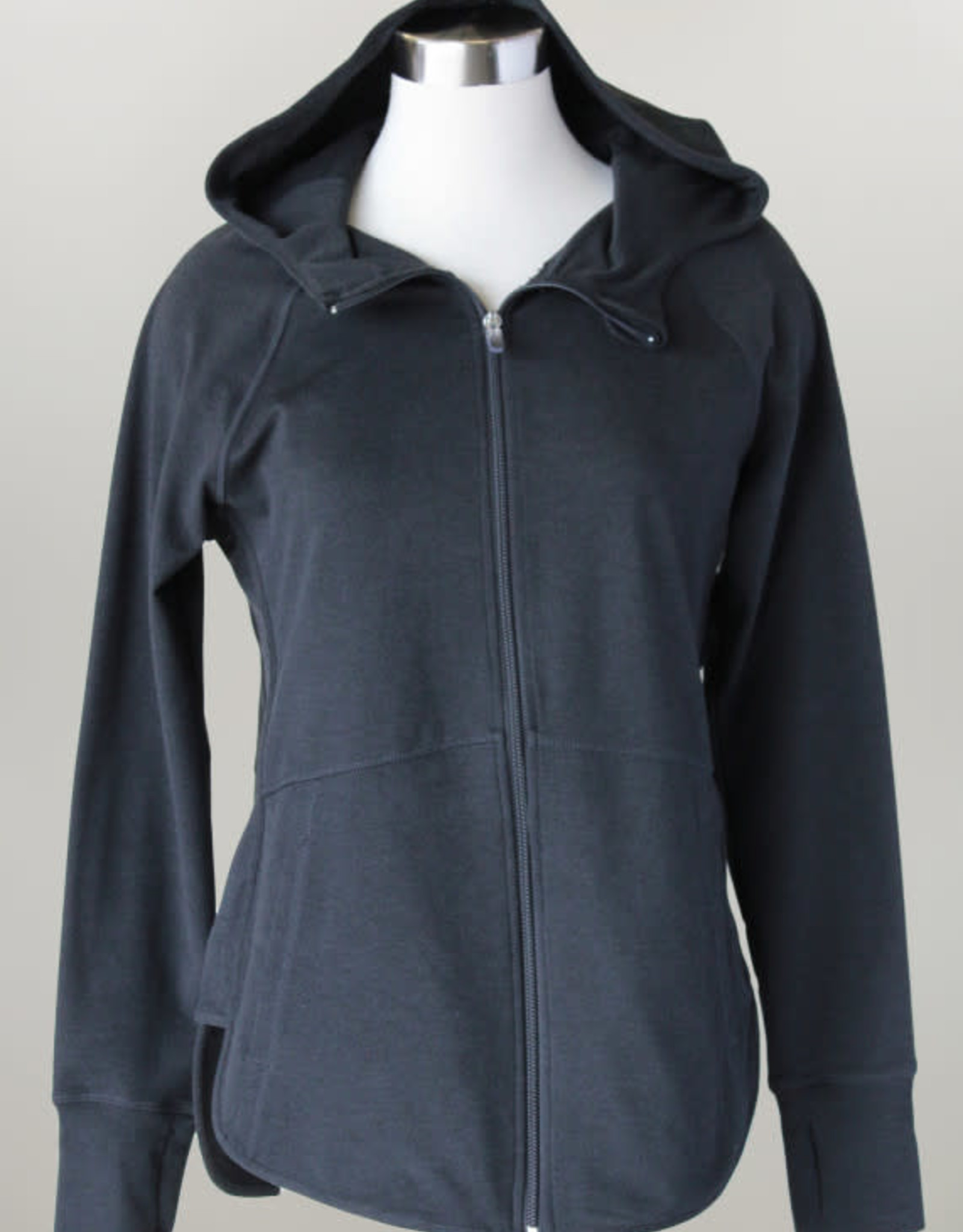 - Black Zip-Up Athletic Jacket