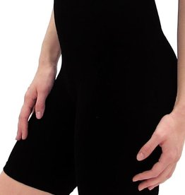 - Black High-Waisted Shorts