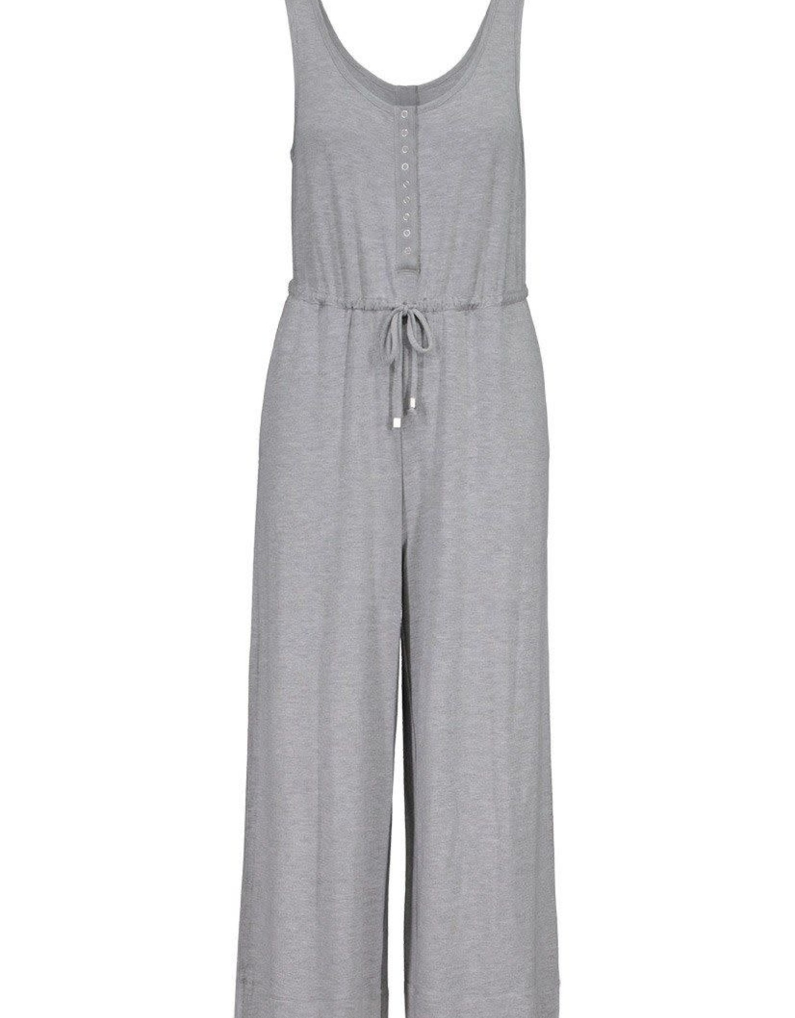 Tribal Grey Jumpsuit w/Snaps