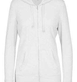 Tribal White Zip-up Hoodie