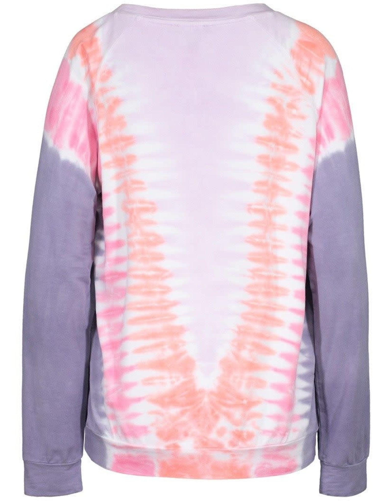 Tribal Multi Colored Tie-Dye Long Sleeve Top