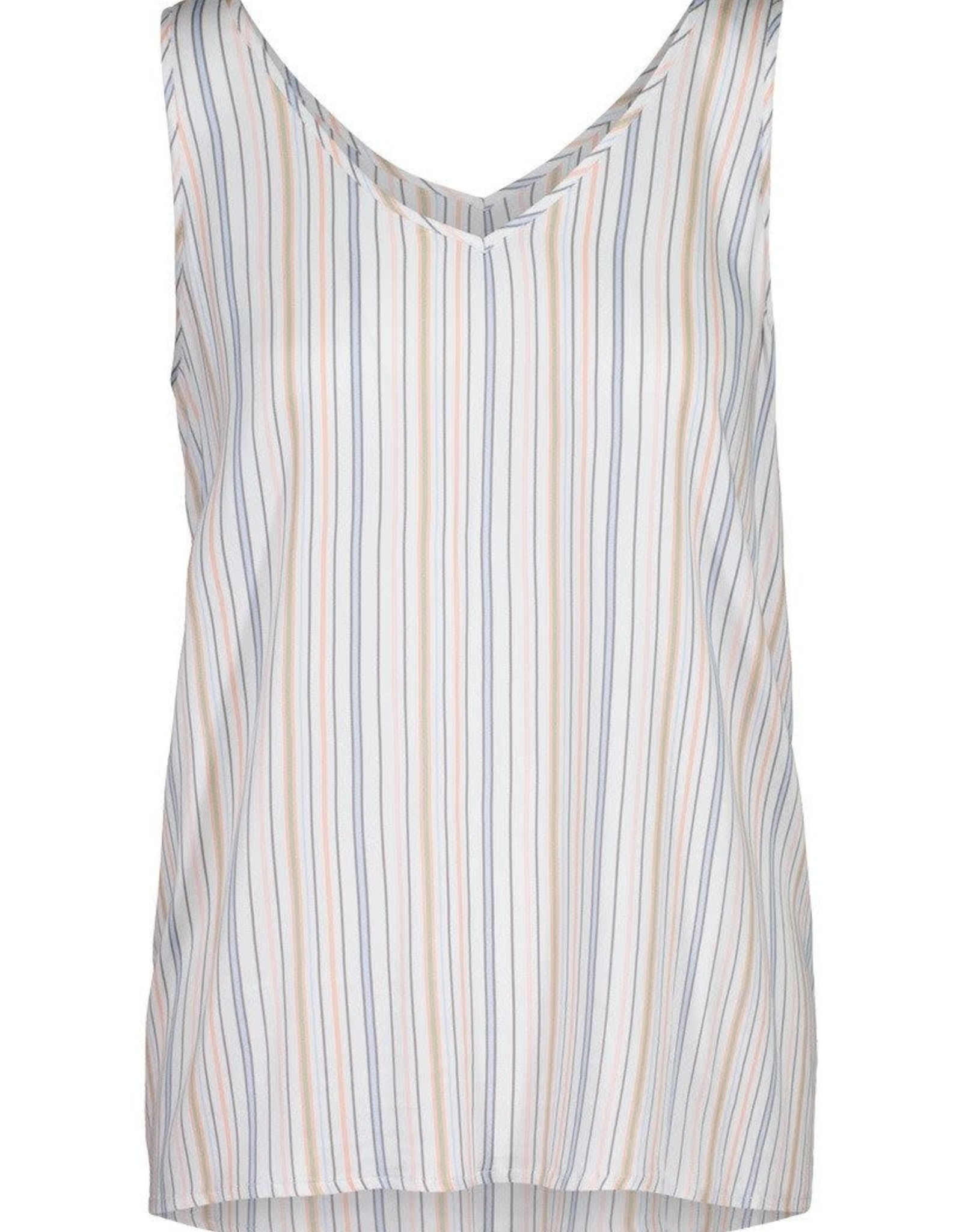 Tribal Peach Stripe Swing Tank