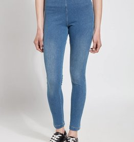 Lysse Knit Toothpick Denim Legging