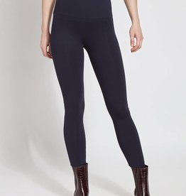 Lysse Navy Ponte Legging w/Center Seam