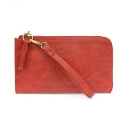 - Red Convertible Wristlet & Wallet