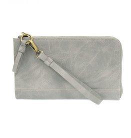 - Dusty Blue Convertible Wristlet & Wallet