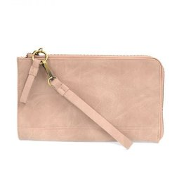 - Light Pink Convertible Wristlet & Wallet