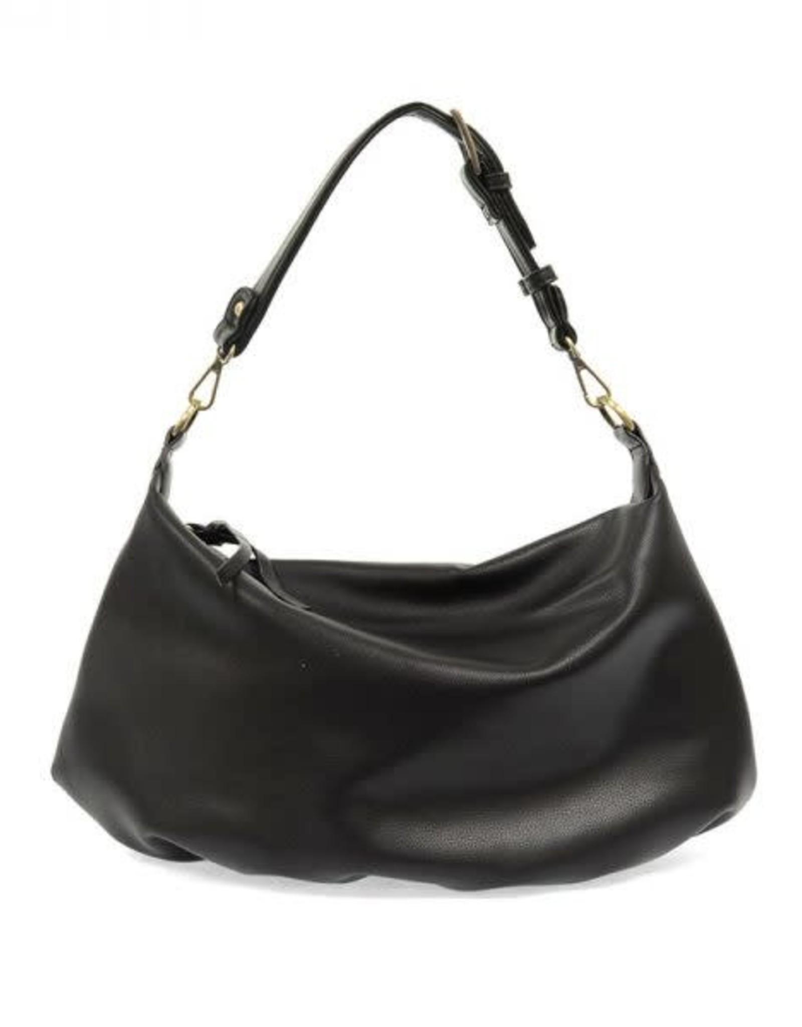 - Black Convertible Hobo Handbag