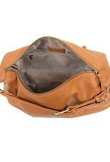- Suntan Convertible Hobo Handbag