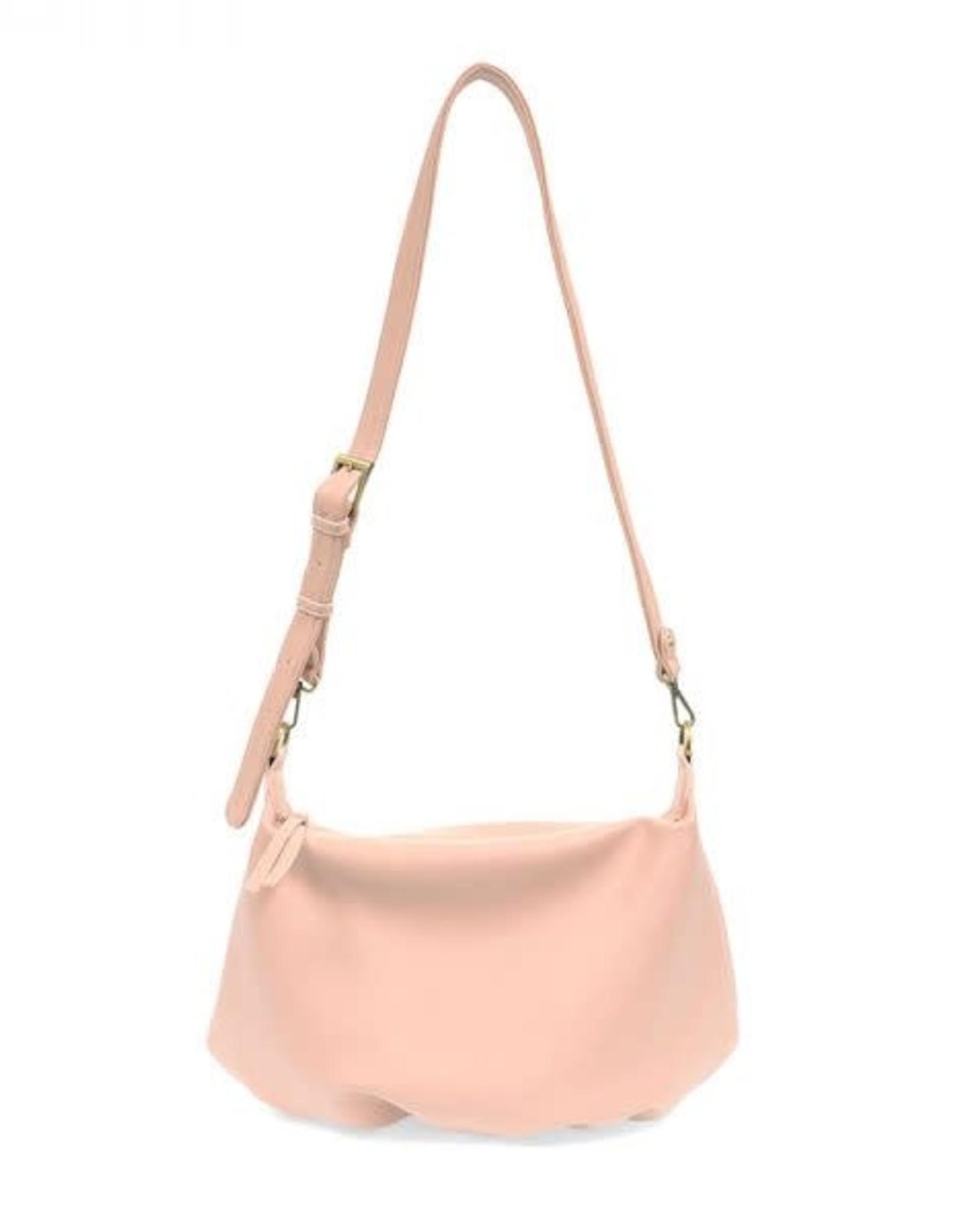 - Petal Pink Convertible Hobo Handbag