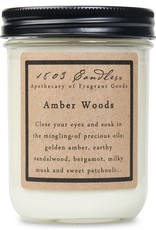 - Amber Woods 14oz Soy Wax Candle