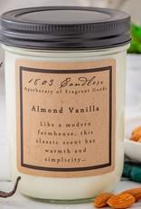 - Almond Vanilla 14oz Soy Wax Candle