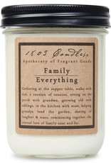 - Family Over Everything 14oz Soy Wax Candle