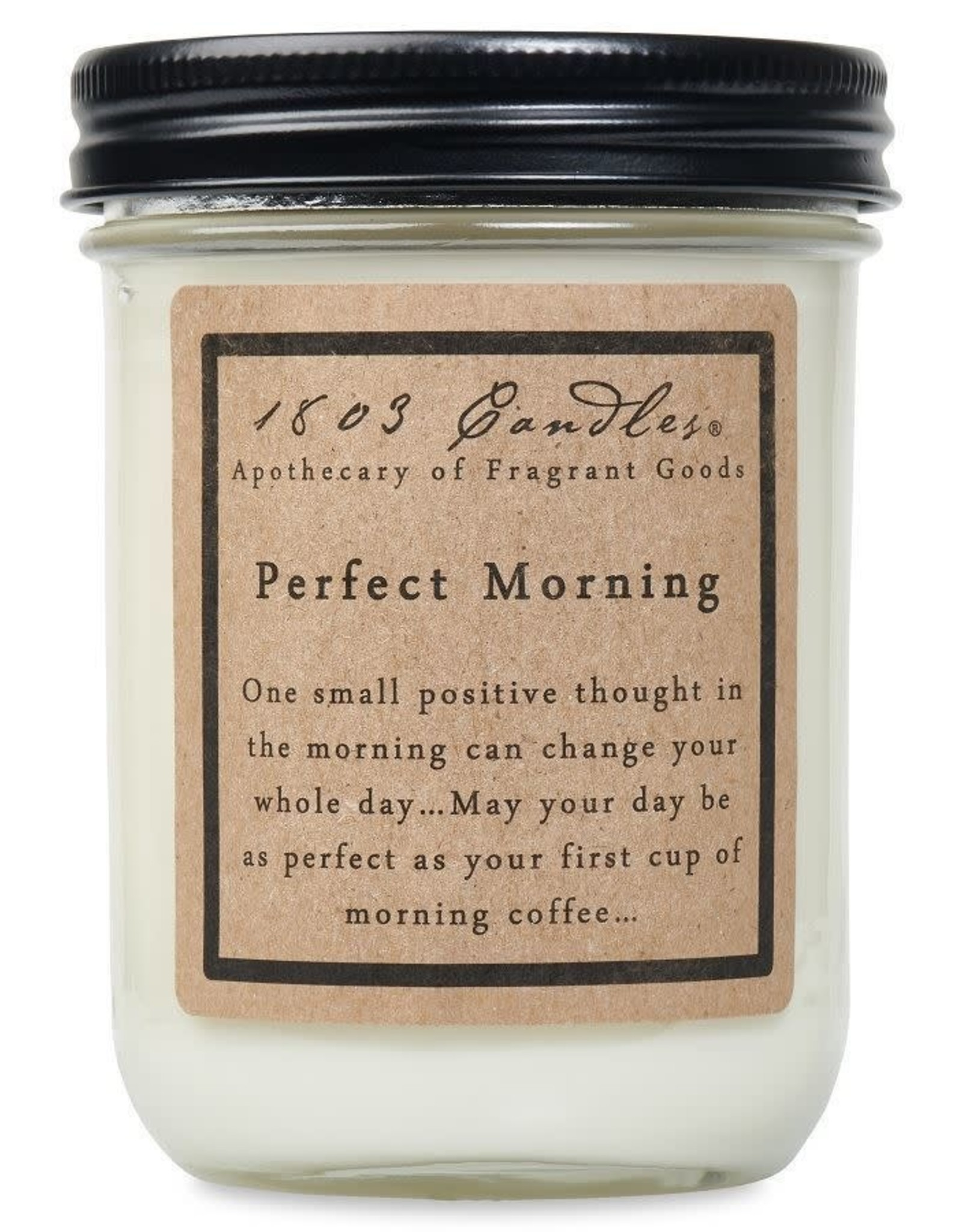 - Perfect Morning 14oz Soy Wax Candle