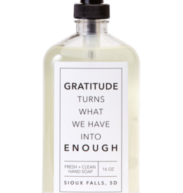 - Gratitude 16oz Liquid Hand Soap