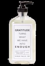 - Gratitude 16oz Liquid Hand Soap
