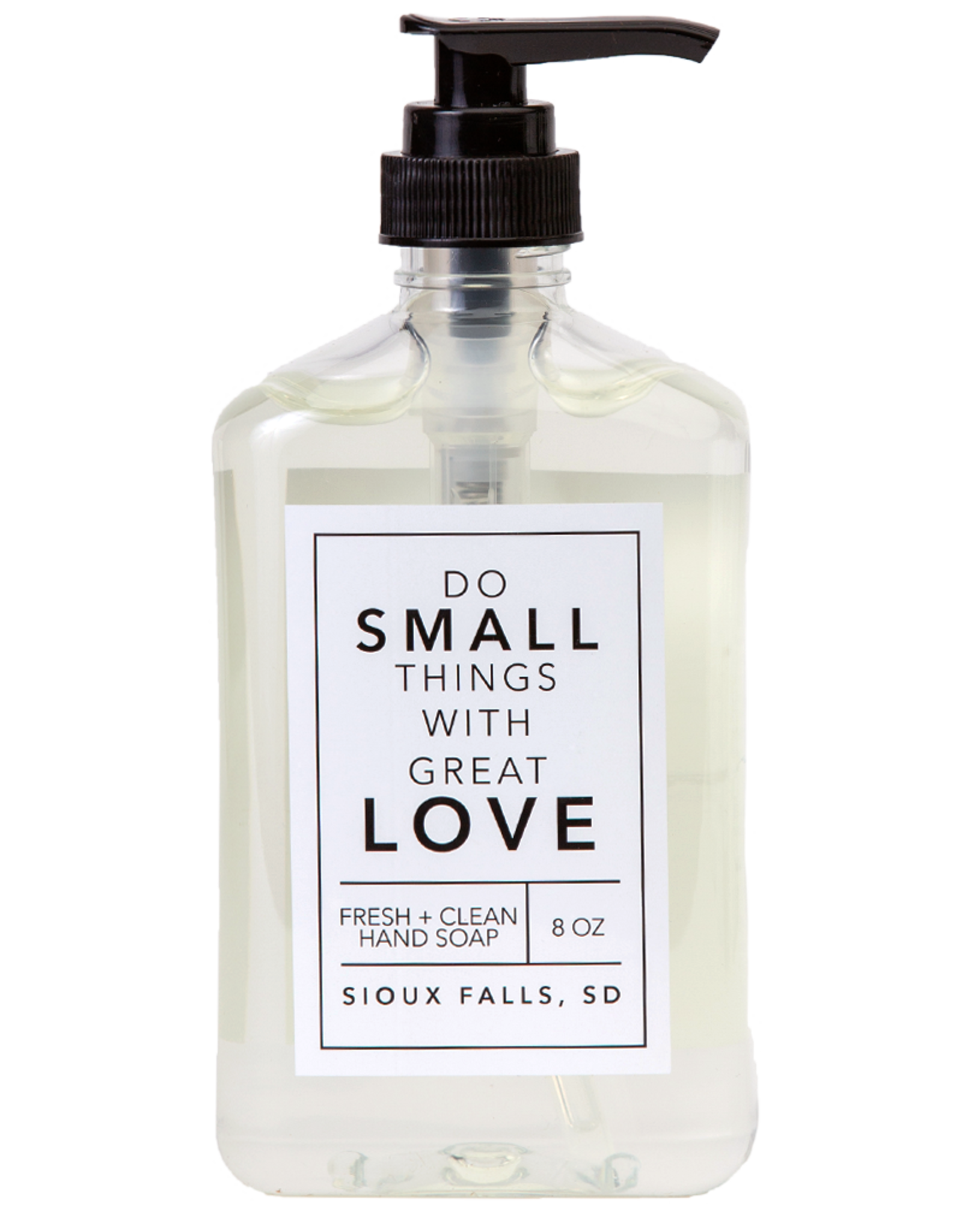 - Love 8oz Liquid Hand Soap