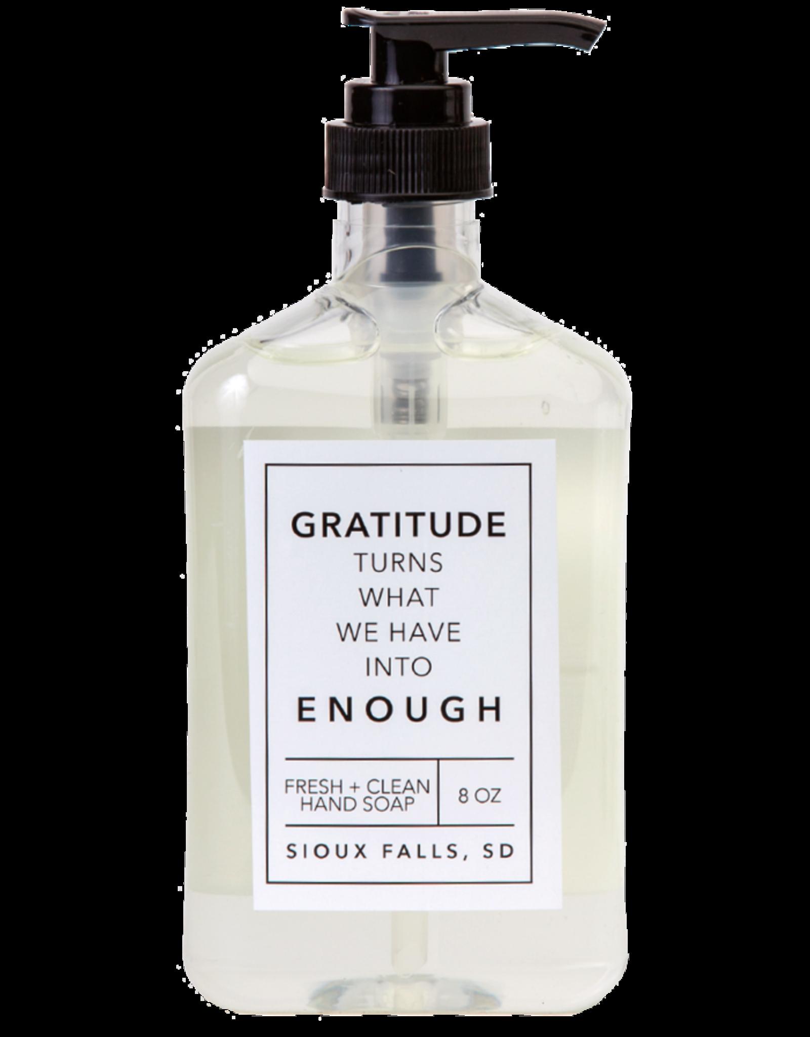 - Gratitude 8oz Liquid Hand Soap