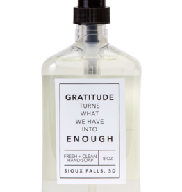 - Gratitude 8oz Liquid Hand Soap