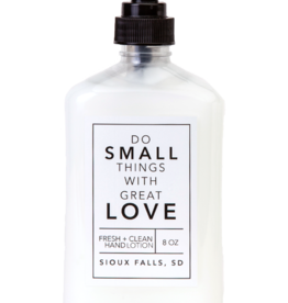 - Love 8oz Hand Lotion