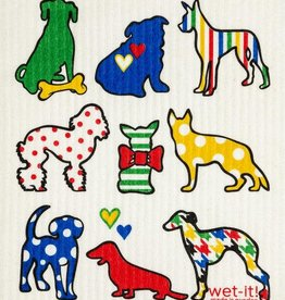 - Dog Lover Wet-it Cloth