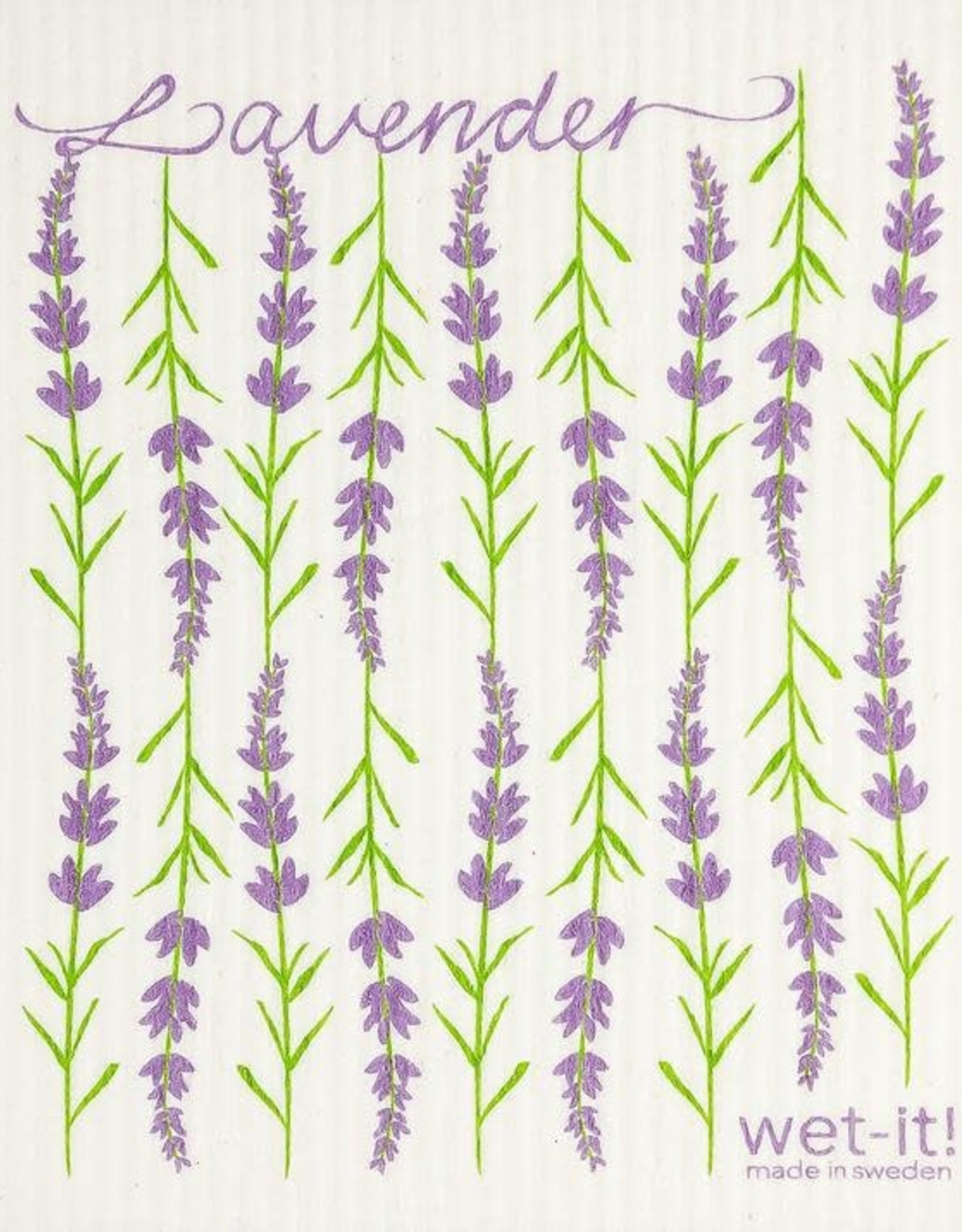 - Lavender Wet-it Cloth