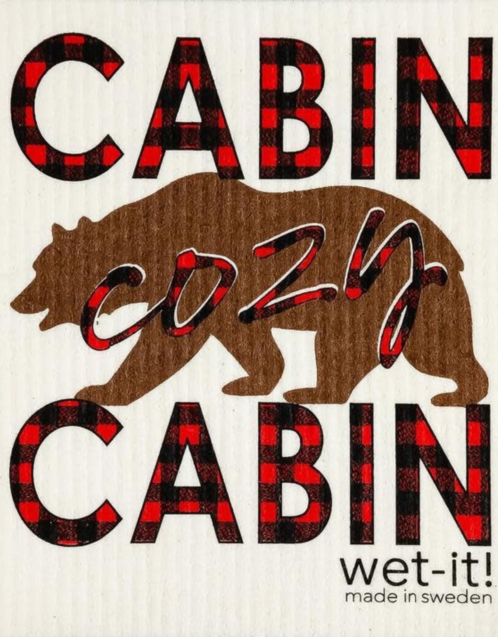 - Cabin Cozy Wet-it Cloth