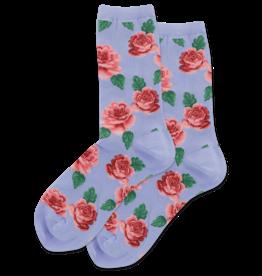 - Rose Print Socks