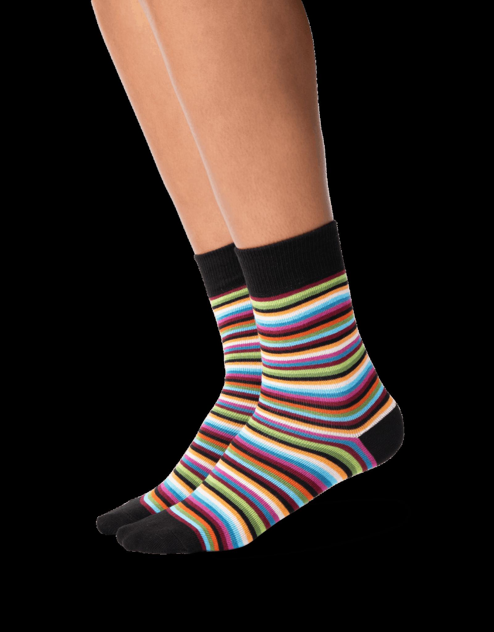 - Multi Color Stripe Socks