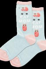 - Cat Mom Socks